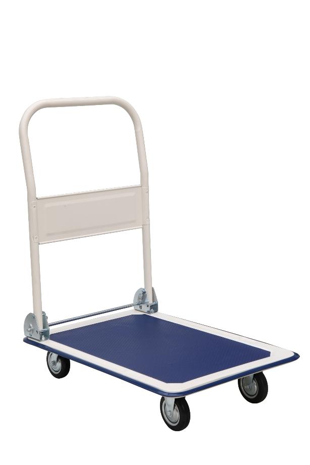 chariot magasin pliable bleu capacit 300 kg eu pf300 b arrimage express. Black Bedroom Furniture Sets. Home Design Ideas