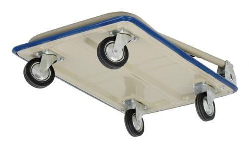 chariot magasin pliable bleu capacit 150 kg eu pf150 b arrimage express. Black Bedroom Furniture Sets. Home Design Ideas