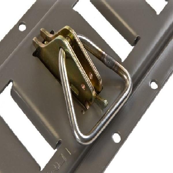 Attache a poussoir avec anneau delta rails universel eu - Anneau de cordage ...